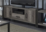 Tanners Creek 64 Inch TV Console in Greystone Finish by Liberty Furniture - 686-TV63