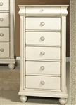 Rustic Traditions II Lingerie Chest in Rustic White Finish by Liberty Furniture - 689-BR46