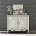 Parisian Marketplace 2 Door Chest in White Paint Heavy Glazed Finish by Liberty Furniture - 698-OT4636