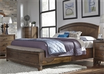 Avalon Storage Bed in Pebble Brown Finish by Liberty Furniture - 705-BR-QPBS