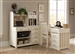Hampton Bay 4 Pc Home Office Set in White Finish by Liberty Furniture - 715-HO