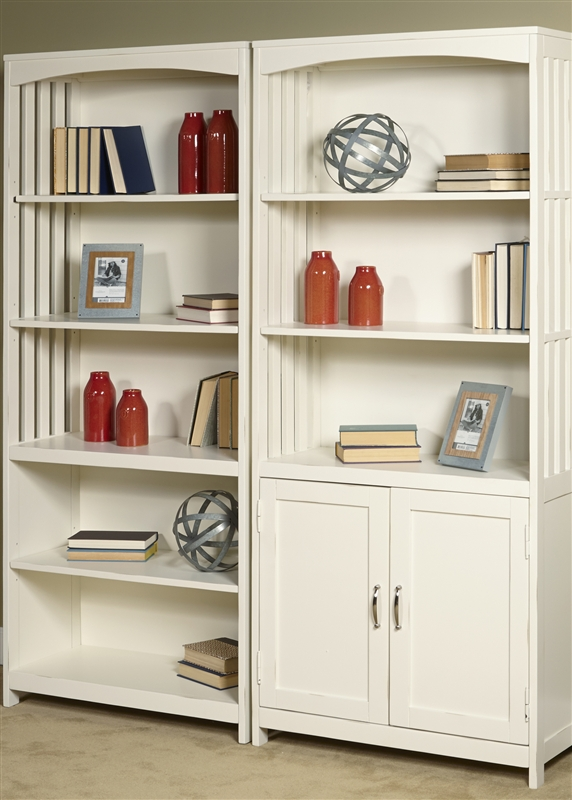 Hampton Bay Door Bookcase In White