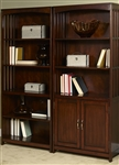 Hampton Bay Open Bookcase in Cherry Finish by Liberty Furniture - 718-HO201