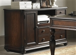 Kingston Plantation Credenza in Hand Rubbed Cognac Finish by Liberty Furniture - LIB-720-HO121