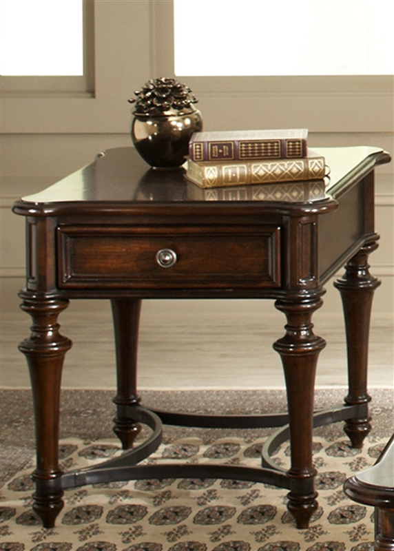 Kingston Plantation Occasional Tables in Hand Rubbed Cognac Finish by Liberty Furniture - LIB-720-OT1011