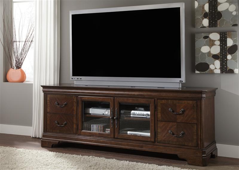 super cute 3faeb 3e1a3 Alexandria 82-Inch TV Stand in Autumn Brown Finish by Liberty Furniture -  722-TV00
