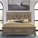 The Laurels Panel Bed in Weathered Stone Finish by Liberty Furniture - 725-BR-OQPB