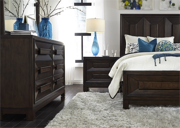 Midtown Storage Bed In Coffee Bean Finish By Liberty Furniture   743 BR QSB