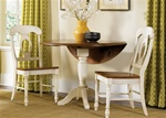 Low Country Napoleon Chair 3 Piece Dining Set in Linen Sand with Suntan Bronze Finish by Liberty Furniture - 79-C5500S-3