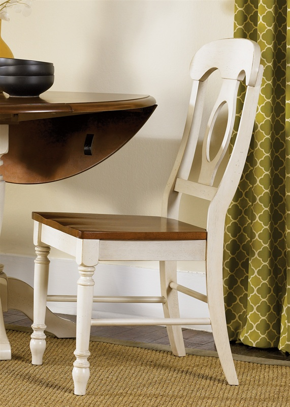Ordinaire Low Country Napoleon Chair 3 Piece Dining Set In Linen Sand With Suntan  Bronze Finish By Liberty Furniture   79 C5500S 3