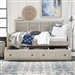Heartland Twin Trundle Bed in Antique White Finish with Tobacco Tops by Liberty Furniture - 824-DAY-TTR