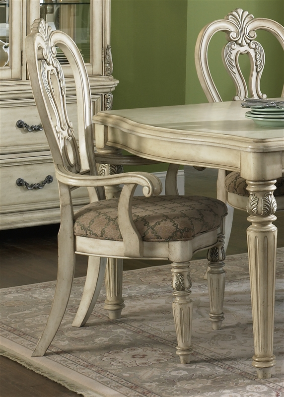 Messina Estates II 7 Piece Dining Set In Antique Ivory Finish By Liberty  Furniture   837 DR