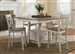Al Fresco Gathering Table 5 Piece Counter Height Dining Set in Driftwood & Sand White Finish by Liberty Furniture - 841-GT5454