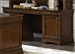 Chateau Valley Credenza in Brown Cherry Finish by Liberty Furniture - 901-HO120