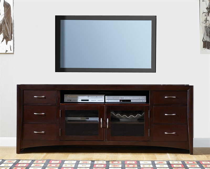 New Generation 72 Inch TV Stand In Merlot Finish By Liberty Furniture    940 TV00