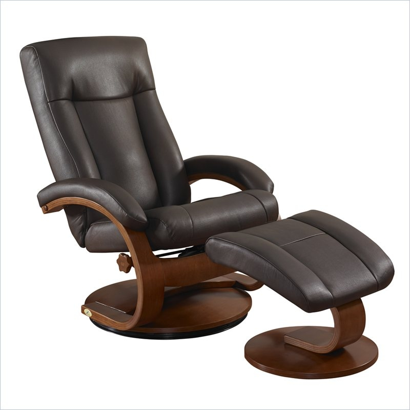 Oslo Splendor Shiatsu 2 Piece Swivel Recliner Palace Hickory Leather By MAC  Motion Chairs 5400 PH