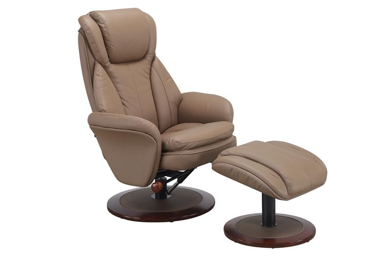 Norway Euro 2 Piece Swivel Recliner Comfort Chair In Sand