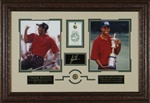 Tiger Woods U.S. Amateur Champion Laser Engraved Signature Display