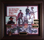 "Clint Eastwood ""The Good, The Bad, and The Ugly"" Autographed Display"