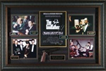 The Godfather Cast Signed Home Theater Display