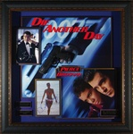 "James Bond ""Die Another Day"" Autographed Home Theater Display"