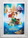 Disney's The Little Mermaid Autographed Home Theater Display