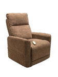 Saville Power Lift Chair Chaise Lounger Recliner in Earth Polyester by Mega Motion - NM-3615-EA
