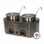 Pro-Deluxe Warmer-Dual Unit with Ladles by Paragon 2029A