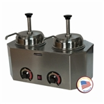 Pro-Deluxe Warmer-Dual Unit with Pumps by Paragon 2029B