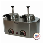 Pro-Deluxe Warmer-Dual Unit with Frontside Heated Pumps by Paragon 2029C