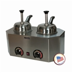 Pro-Deluxe Warmer-Dual Unit with Backside Heated Pumps by Paragon 2029D