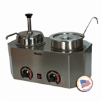 Pro-Deluxe Warmer-Dual Unit with One Ladle and One Pump by Paragon 2029E