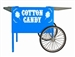 Blue Deep Well Cotton Candy Cart by Paragon 3060050
