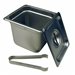 "6"" Steam Pan Set with Lid and Tongs by Paragon - PAR-5066S"