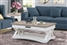 Americana Cocktail Table in Cotton Finish by Parker House - AME#01-COT