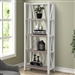 Americana Etagere Bookcase in Cotton Finish by Parker House - AME#330-COT
