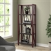 Americana Etagere Bookcase in Cranberry Finish by Parker House - AME#330-CRAN