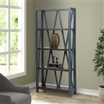 Americana Etagere Bookcase in Denim Finish by Parker House - AME#330-DEN