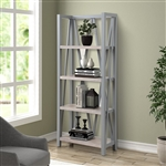 Americana Etagere Bookcase in Dove Finish by Parker House - AME#330-DOV