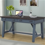Americana Modern 60 Inch Writing Desk in Denim Finish by Parker House - AME#360D-DEN