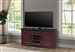 Americana Modern 63 Inch TV Console with Power Center in Cranberry Finish by Parker House - AME#63-CRAN
