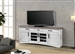 Americana Modern 76 Inch TV Console with Power Center in Cotton Finish by Parker House - AME#76-COT