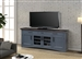 Americana Modern 76 Inch TV Console with Power Center in Denim Finish by Parker House - AME#76-DEN