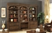 Aria 6 Piece Desk Library Wall in Antique Vintage Smoked Pecan Finish by Parker House - ARI-460-2-6
