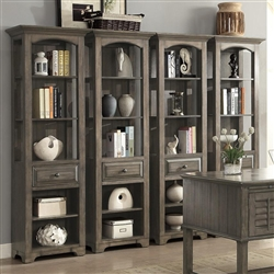 Austin 2 Piece Bookcase in Earl Grey Finish by Parker House - AUS-250P