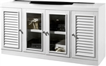 Boca 56 Inch TV Console in Cottage White Finish by Parker House - BOC-411