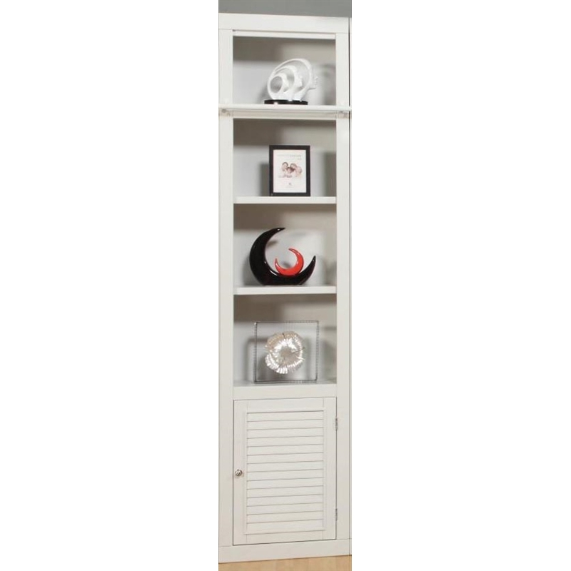 Parker House Modular Home Office Set Boca Ph Boc Mset: Boca 22 Inch Open Top Bookcase In Cottage White Finish By