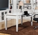 Boca 60-Inch Writing Desk in Cottage White Finish by Parker House - BOC-485