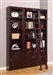Boston 3 Piece Bookcase Library Wall in Merlot Finish by Parker House - BOS-411-3BC