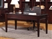 Boston 60-Inch Writing Desk in Merlot Finish by Parker House - BOS-485
